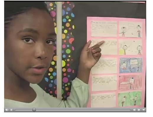 Student image from video