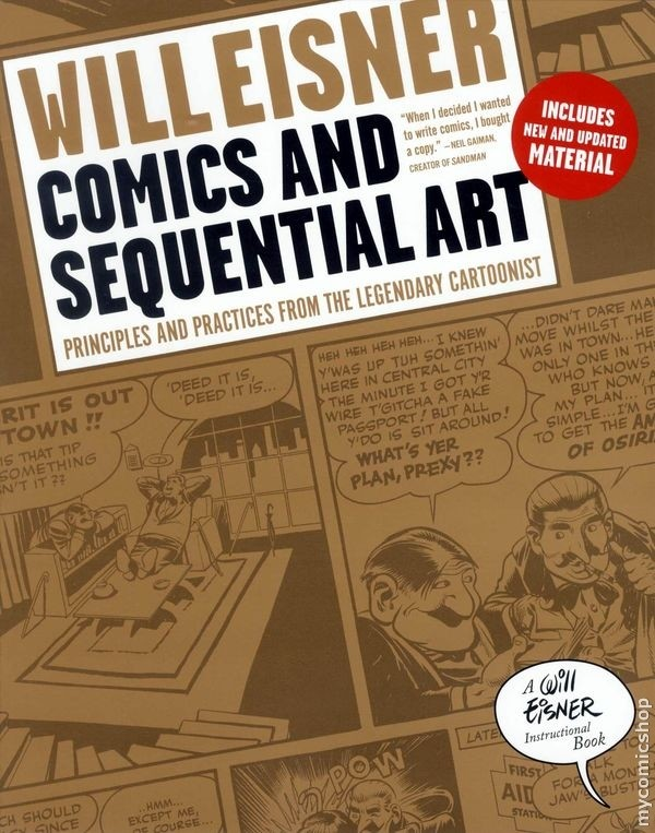Comics and Sequential Art - Will Eisner