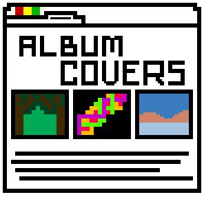 Designing and embedding album covers