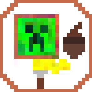 Using Acorn to paint a minimalist Minecraft poster