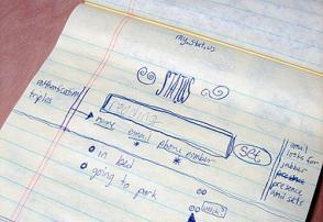 Twitter Prototype sketch