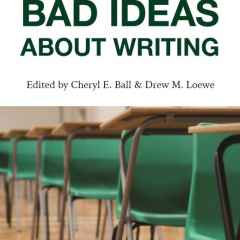 Bad Ideas About Writing Book Cover