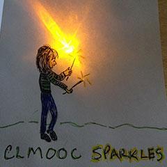 CLMOOC sparkles by Sheri Edwards