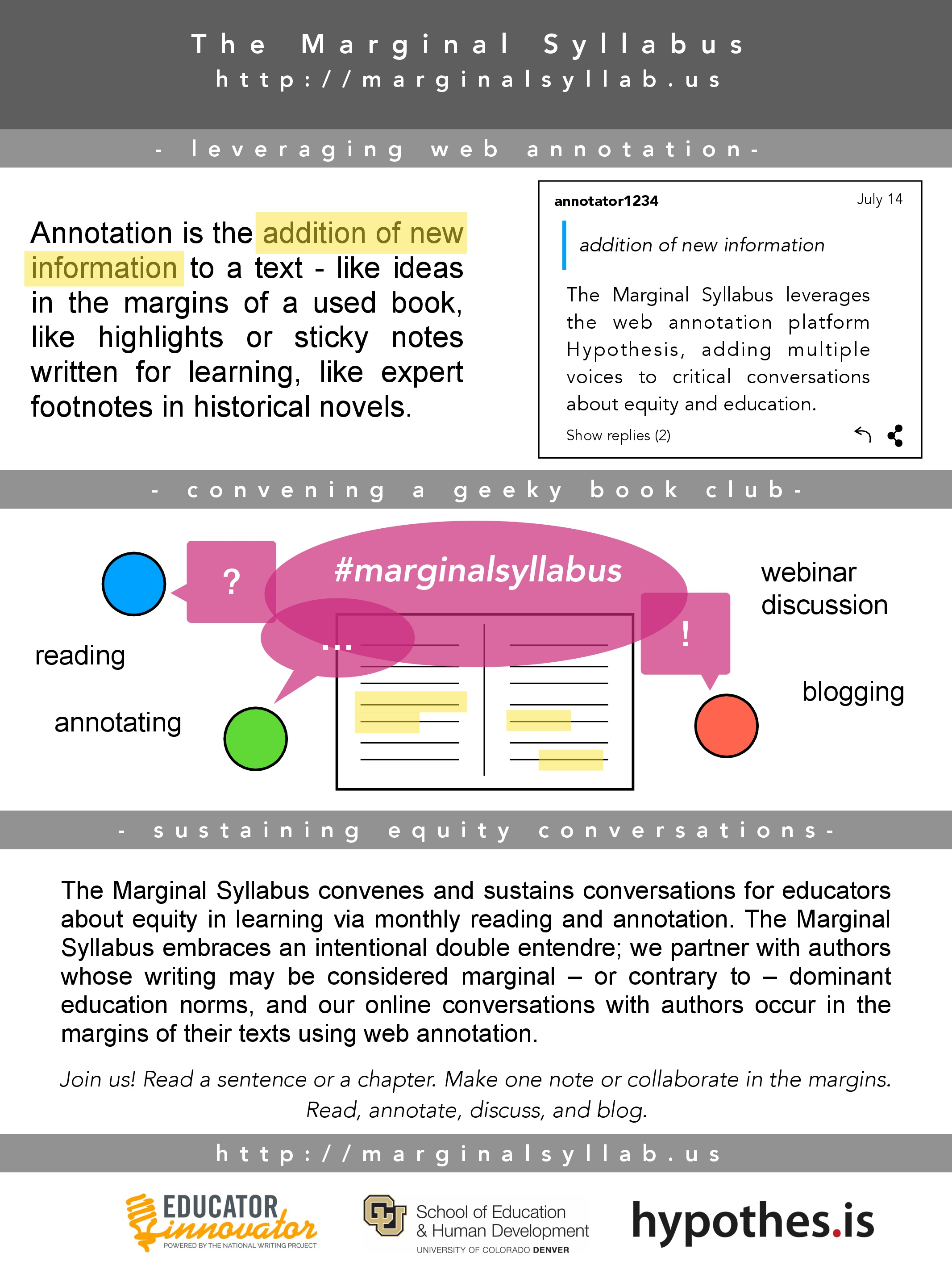 The Marginal Syllabus: (re)Marking on Equity in Education