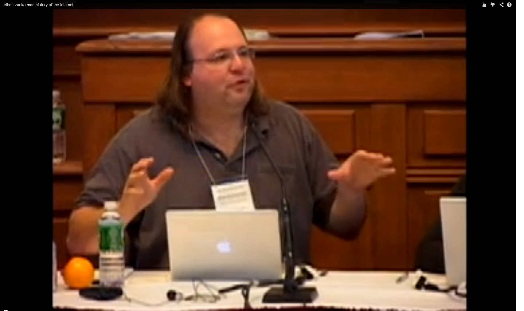 "Ethan Zuckerman, ""History of the Internet"""