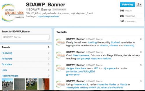 Teachers Tweeting Teachers: Building a Community of Practice through Twitter
